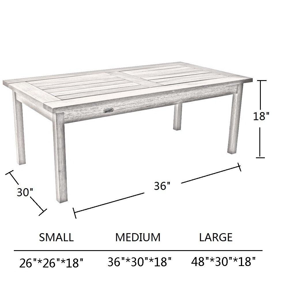 Coffee Side Table Cover Outdoor Veranda Ottoman Table Cover 36 39 39 X30 39 39 X18 39 39 Ebay
