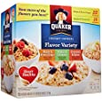Quaker Instant Oatmeal Variety-74.3 oz, 52 ct