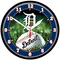 Detroit Tigers Wall Clock by WinCraft
