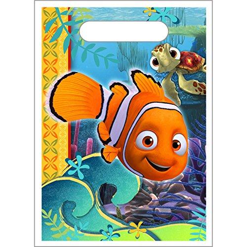 Hallmark Mens Disney Nemo's Coral Reef Treat Bags Multi-colored Medium