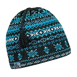 Turtle Fur Chamonix Tassel Ski Hat Black Heather