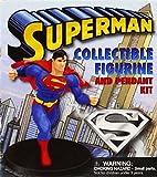 Superman Collectible Figurine and Pendant Kit