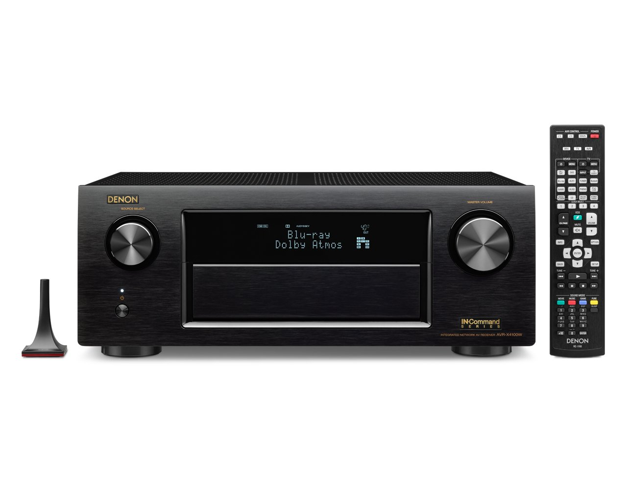Denon AVR-X4100W 7.2 Network A/V Receiver with Wi-Fi, Bluetooth and Dolby Atmos (Discontinued by Manufacturer)