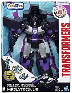 "Transformers Robots in Disguise Clash of the Transformers Megatronus 10"" Action Figure [5-Step Changer]"