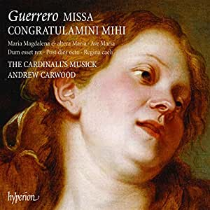 Missa Congratulamini Mihi Motets