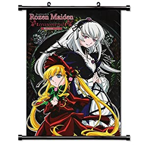 Rozen Maiden Anime Fabric Wall Scroll Poster (16 x 23) Inches