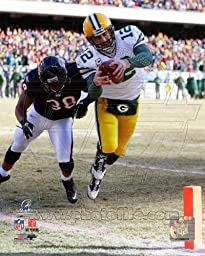 Aaron Rodgers 2010 NFC Championship Game Touchdown - Green Bay Packers NFL 8x10 Photo