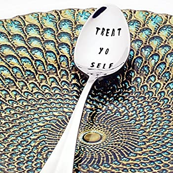 Parks and Recreation: Treat Yo Self - Stamped Spoon, Stamped Silverware