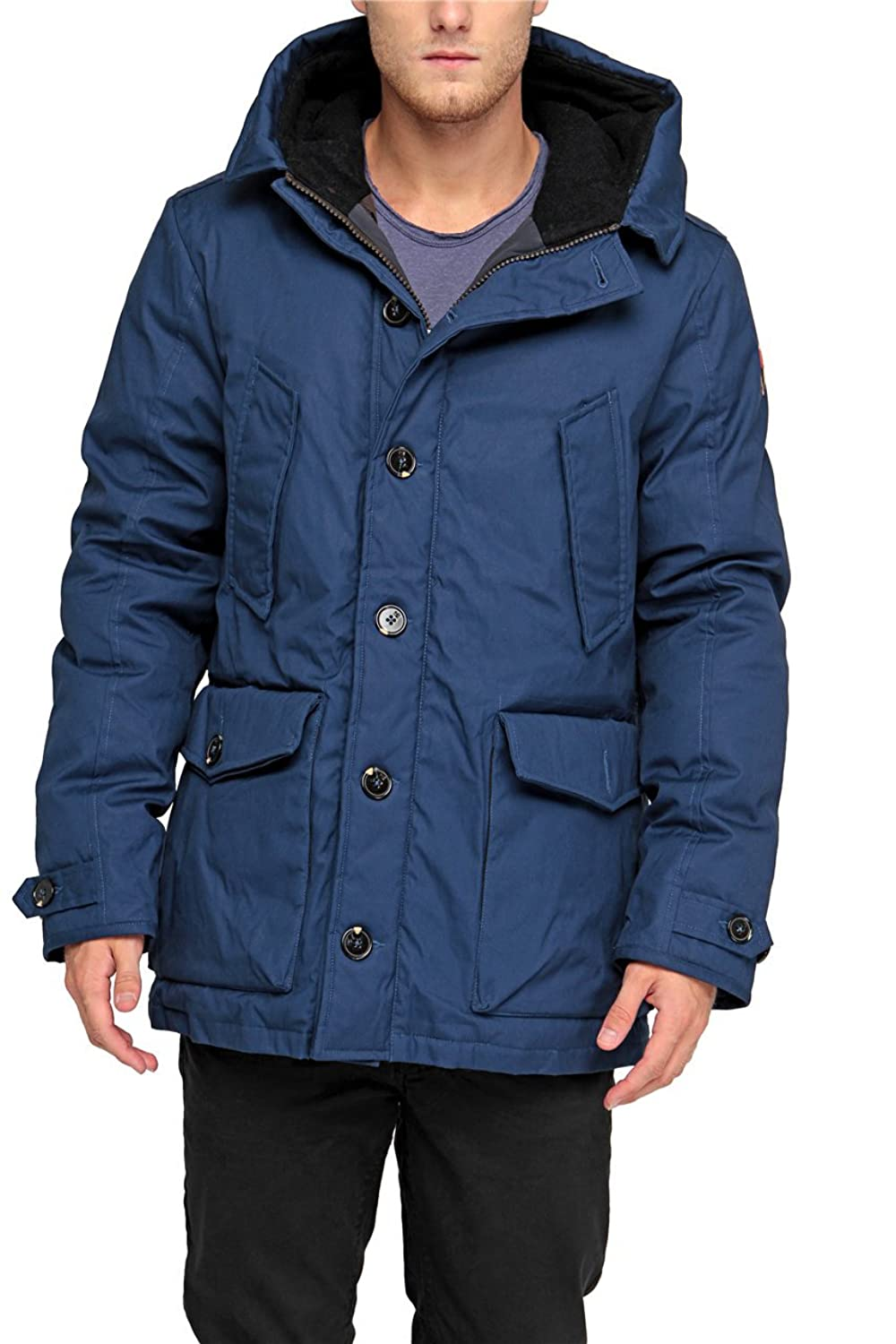 Scotch & Soda Herren Winterjacke , Farbe: Blau