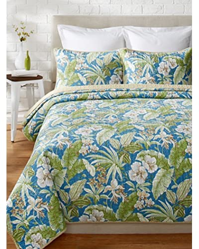 Tommy Bahama Key Largo Place Prewashed Quilt Set