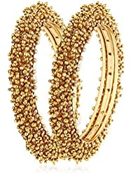 YouBella Antique Gold Plated Bangle Jewellery For Girls And Women