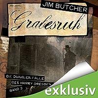 Grabesruh (Die dunklen Fälle des Harry Dresden 3) Hörbuch von Jim Butcher Gesprochen von: Richard Barenberg
