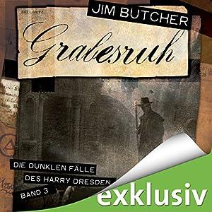 Grabesruh (Die dunklen Fälle des Harry Dresden 3) Hörbuch