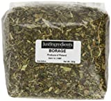 JustIngredients Borage Loose 250 g (Pack of 2)