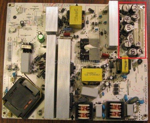 Repair Kit, Lg 32Lb9D, Lcd Tv, Capacitors, Not The Entire Board