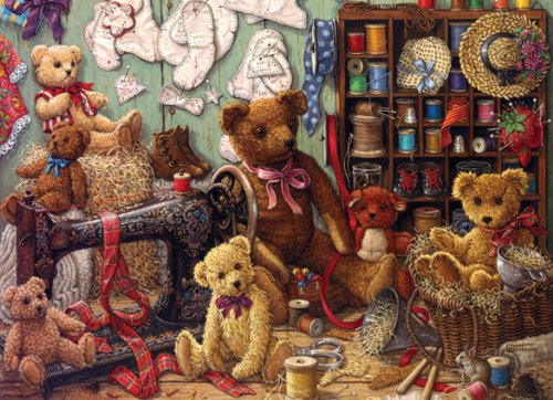 Teddy Bear Workshop 275 Piece Easy Handling Jigsaw