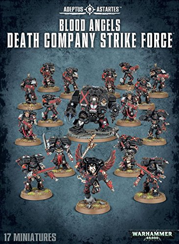 Warhammer 40k Blood Angels Death Comapny Strike Force (40k Death Company compare prices)