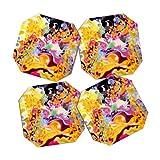 DENY Designs Stephanie Corfee Sing Coasters, Set of 4