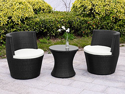 Verona-3-Piece-Rattan-Garden-Patio-Furniture-Vase-Dining-Eating-Picnic-Table-Set-2-Chair-Stackable-Neat-Tidy-Beautiful-Contemporary-Outdoor-Living-Garden-Conservatory-Patio-Summer-Sunny-Innovative