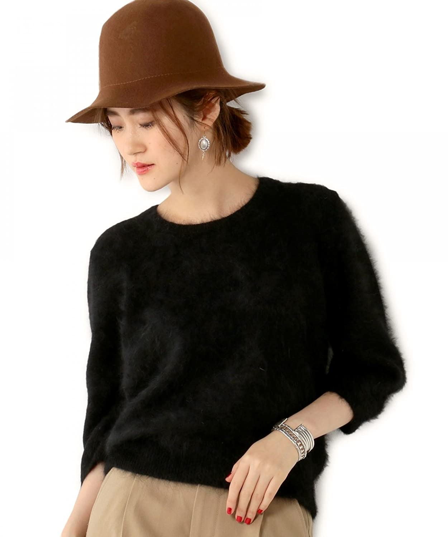 (ユナイテッドアローズ) UNITED ARROWS □UBCE ANG/FUR LOOSE/SL 15131053667 09 Black フリー : 服&ファッション小物通販 | Amazon.co.jp