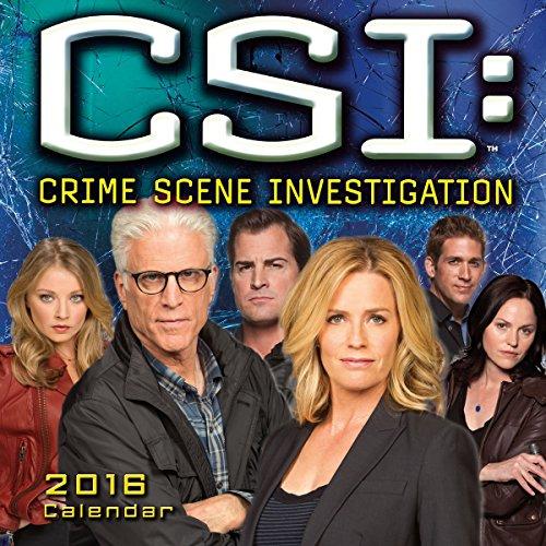 CSI: Crime Scene Investigation 2016 Calendar