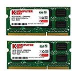 Komputerbay 8GB (2x 4GB) DDR3 SODIMM...