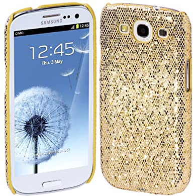 Cimo Bling Sparkle Hard Cover Back Case