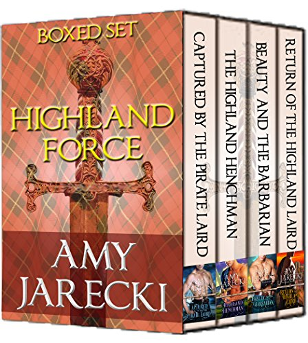 Amy Jarecki - Highland Force Boxed Set: Three Full-Length Novels and One Novella