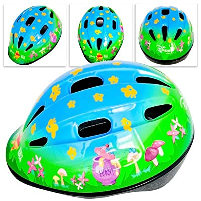 Kids Girls Boys Children Bicycle Cycle Bike Helmet 47 - 53 cm Disney Winnie the Pooh from Relaxdays