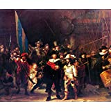 Renaissance Museum & Art - Night Watch By Rembrandt - Canvas Art Print