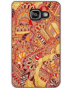WEB9T9 Samsung Galaxy A7 (2016) Back Cover Designer Hard Case Printed Cover