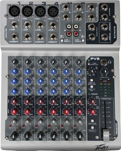 Peavey Pv8usb 8 Ch Usb Mixing Board