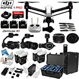 DJI-Inspire-1-Pro-Quadcopter-with-eDigitalUSA-Ultimate-Flight-Kit-Includes-1-Remote-Go-Professional-Hard-Case-4-Batteries-with-Charging-Hub-4-Piece-Filter-Kit-4-x-Spare-Propellers-and-more