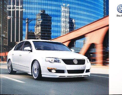 2010 Vw Volkswagen Passat 24-Page Original Dealer Sales Brochure Catalog