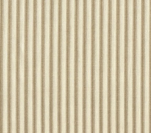 Other Kitchen, Dining u0026 Bar - French Country Linen Beige Ticking Stripe Cotton 72 inch Round ...