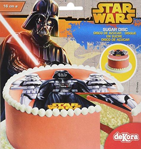 star-wars-disque-en-sucre-16-cm-star-wars-sans-gluten-sans-colorants-azoiques-15-g