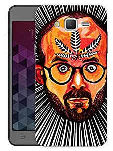 "Humor Gang Believe In The Leaf - Trippy Printed Designer Mobile Back Cover For ""Samsung Galaxy Grand 2"" (3D, Matte, Premium Quality Snap On Case)"