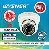Wysner WS-DB13-NR 1.3MP Dome CCTV Camera