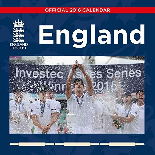 The Official England Cricket 2016 Square Calendar (Calendar 2016)