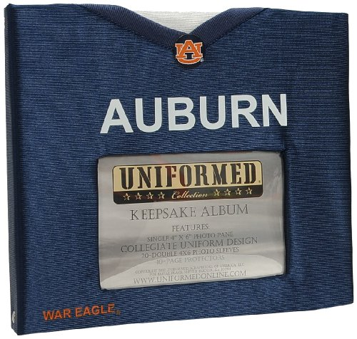 UNIFORMED Auburn University Keepsake/Photo Album at Amazon.com