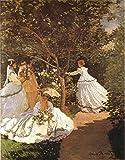 The Museum Outlet - Femmes au jardin 1867 by Monet - Canvas Print Online Buy (30 X 40 Inch)