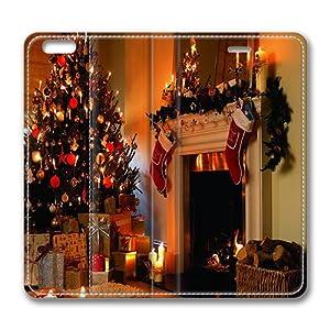 Iphone 6 Plus Case Photo Decorative Christmas Fireplace Decorating Fireplace Mantel