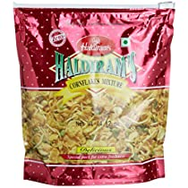Haldiram Cornflakes Mixture, 14.12-Ounce Pouch (Pack of 5)