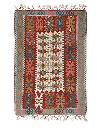 Uptown Down Vintage Tribal Rug, Multi