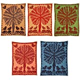 Wholesale Lot 20 Pcs Handmade Tree of Life Wall Hanging Tapestry 60 X 40 Inches
