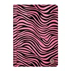 Mary Collection Portfolio Standing Case for Hannspree T7 Series 10.1 Tablet (Pink Zebra)