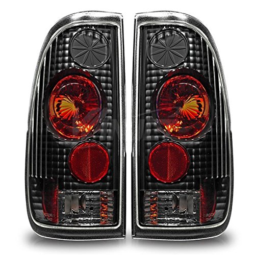 Exstream Industries 97-03 Ford F-150 Styleside /97-07 Ford F-250 Styleside / 99-07 Ford F-350 Altezza Tail Lights - (Black / Clear)