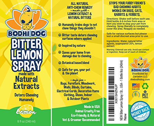 New Bitter Lemon Spray Stop Biting And Chewing For