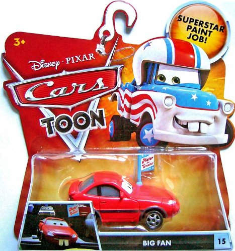 Disney / Pixar CARS TOON 155 Die Cast Car Big Fan