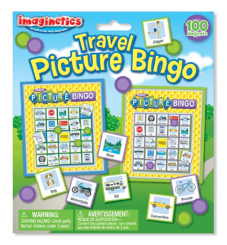 Imaginetics Travel Picture Bingo Set - 1